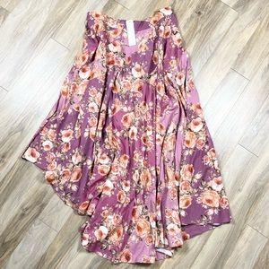 NWT Soft Surroundings Venetian Skirt Berry Rose